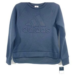 Juniors Adidas crop sweater